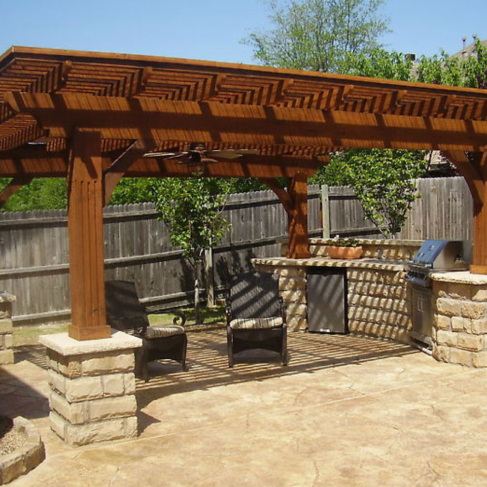 Timber Outdoor Living: Texas State Fence & Patio